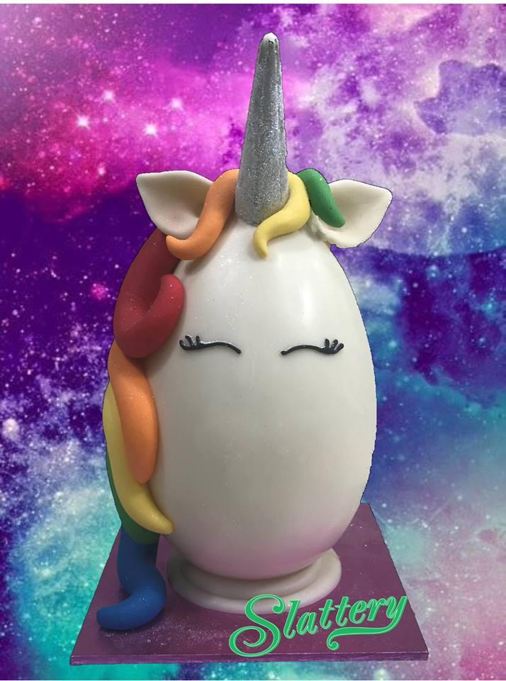 Slattery's Rainbow Unicorn Easter Egg