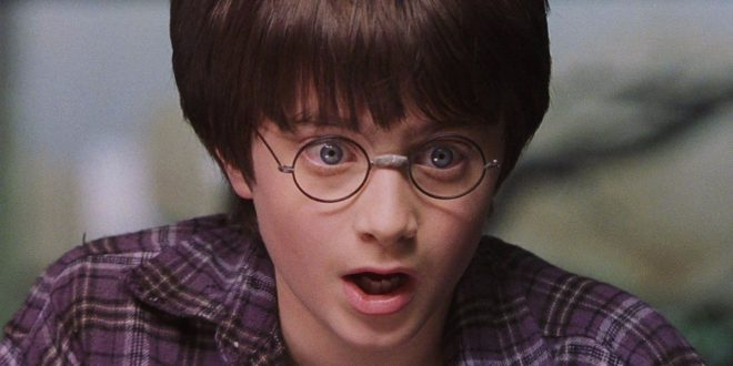 Harry Potter looking surprised