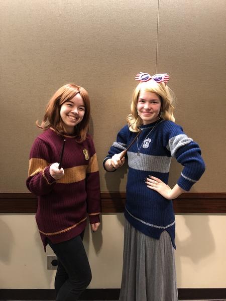 Ginny Weasley and Luna Lovegood
