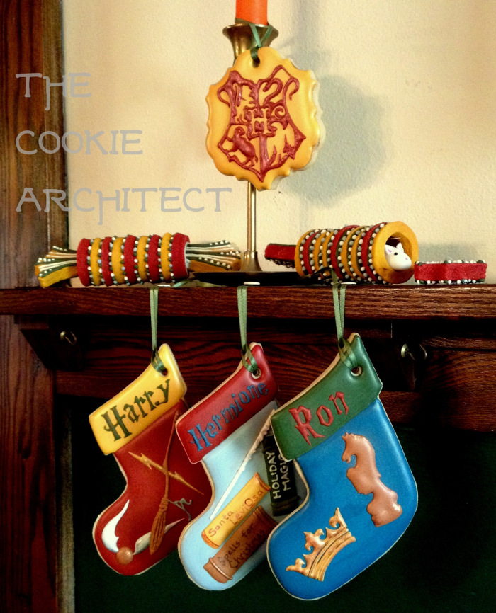 Trio stocking cookies