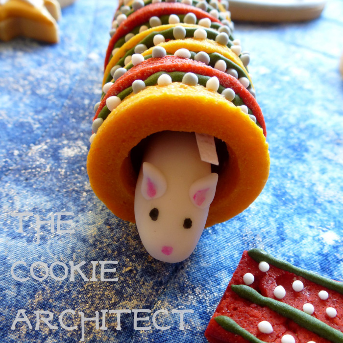 Wizarding Christmas cracker cookie