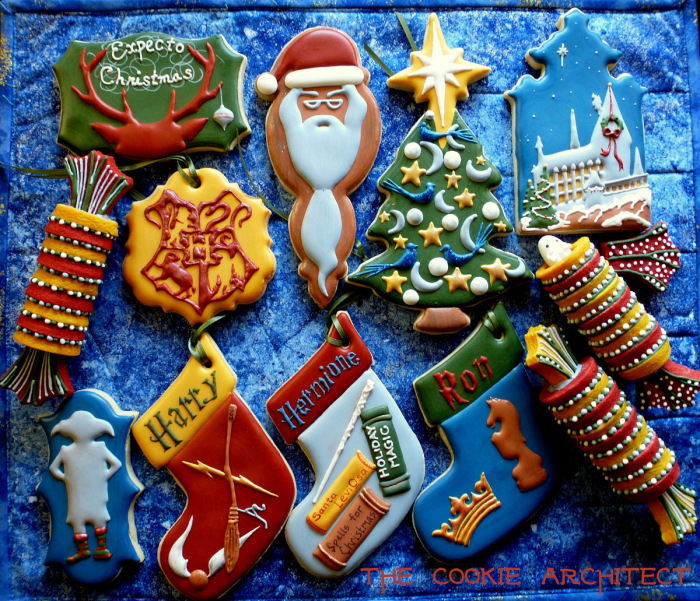 """Harry Potter"" Christmas cookies"