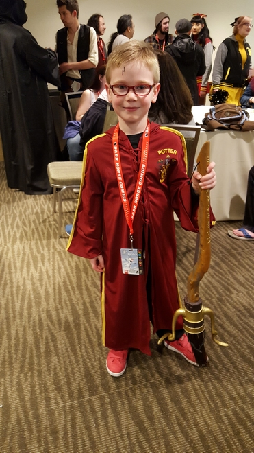 Harry Potter cosplay by Steven