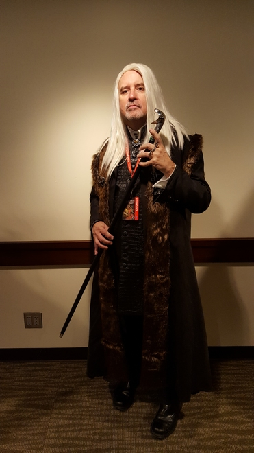 Lucius Malfoy cosplay by Rich Miles