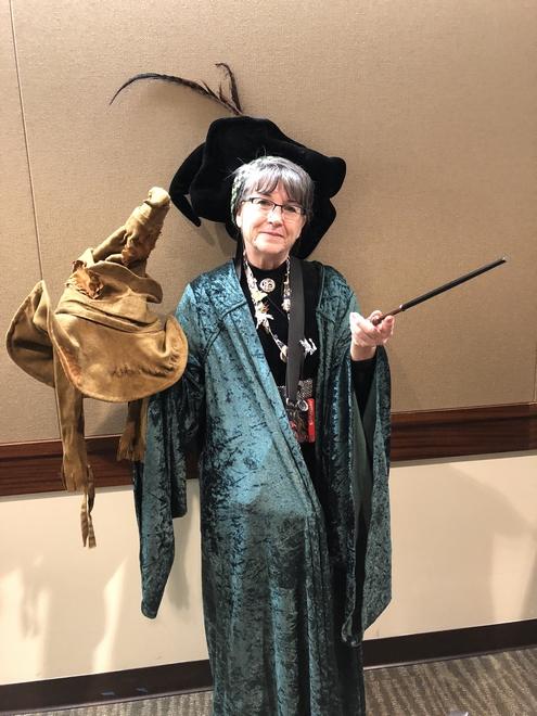 Minerva McGonagall cosplay