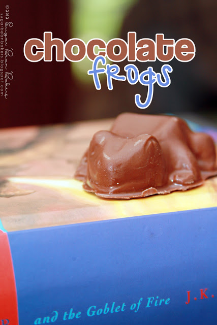 Peanut butter chocolate frogs