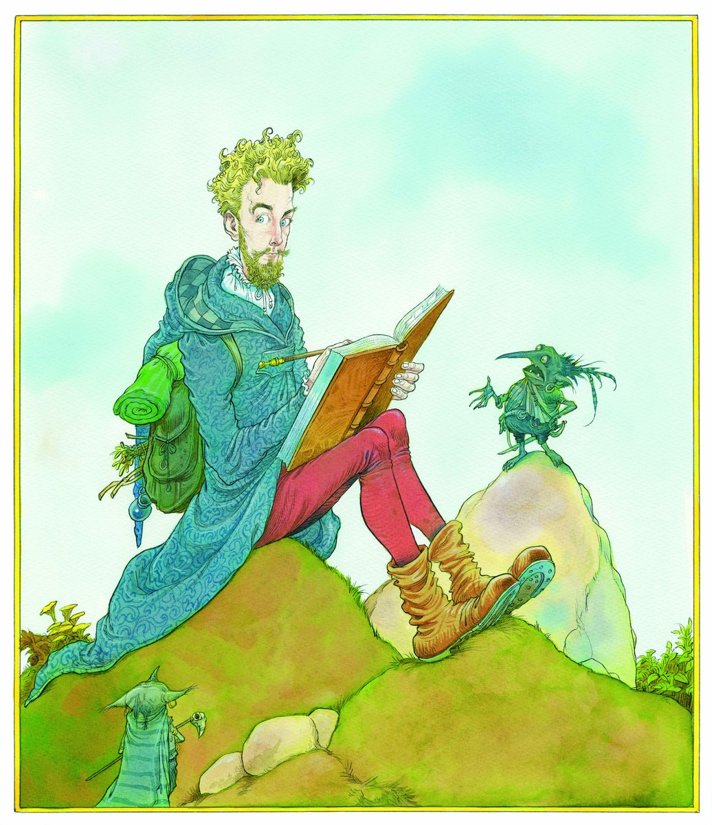 Beedle the Bard Illustration