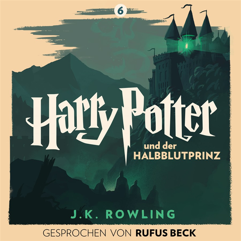 German Pottermore Exclusive audiobook cover (2016)