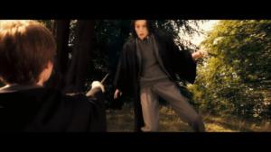 James Potter bullying Severus Snape