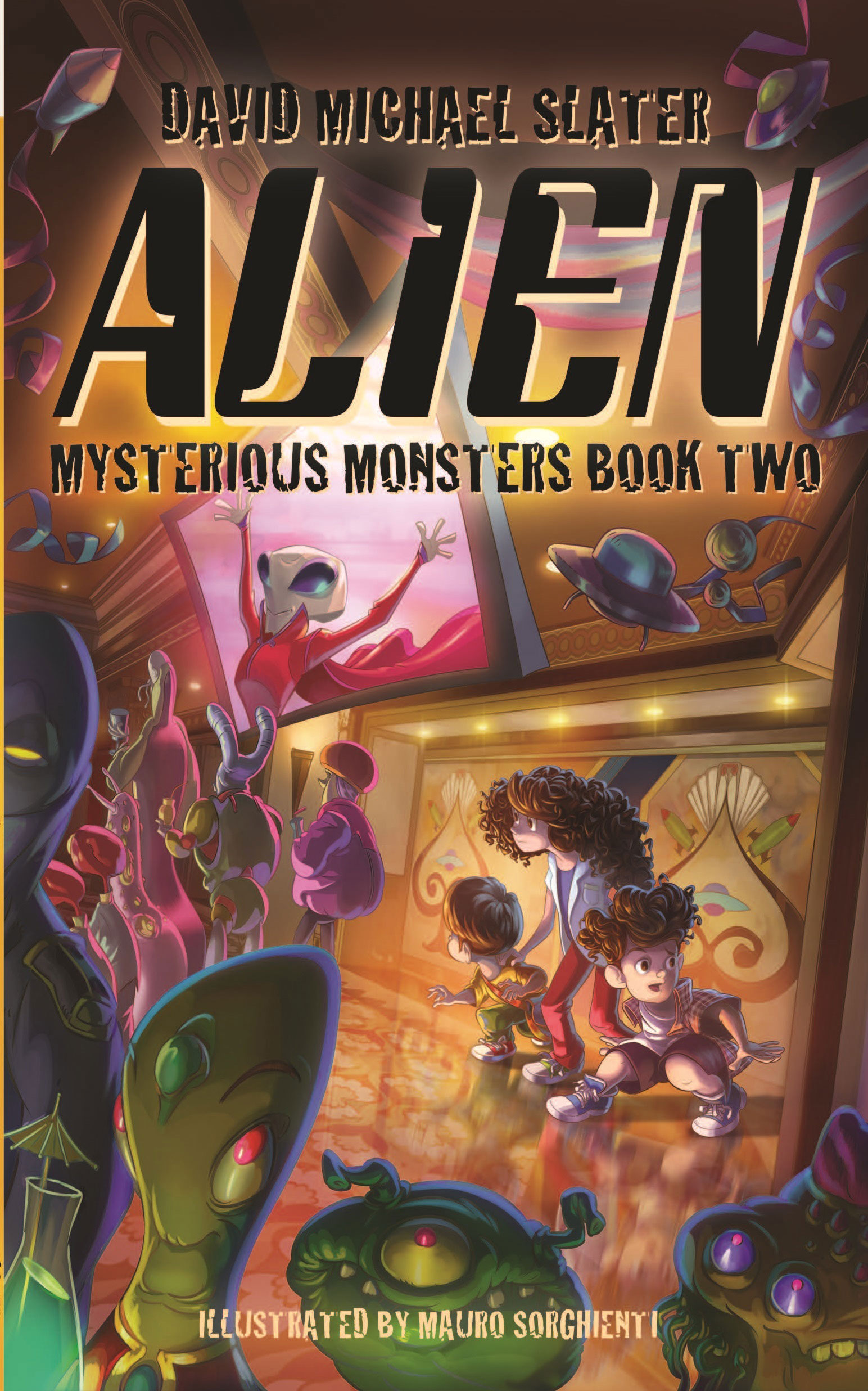 Alien: Mysterious Monsters