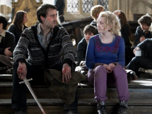 Neville Longbottom and Luna Lovegood