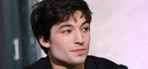 "Ezra Miller (Credence Barebone, ""Fantastic Beasts"") is pictured."