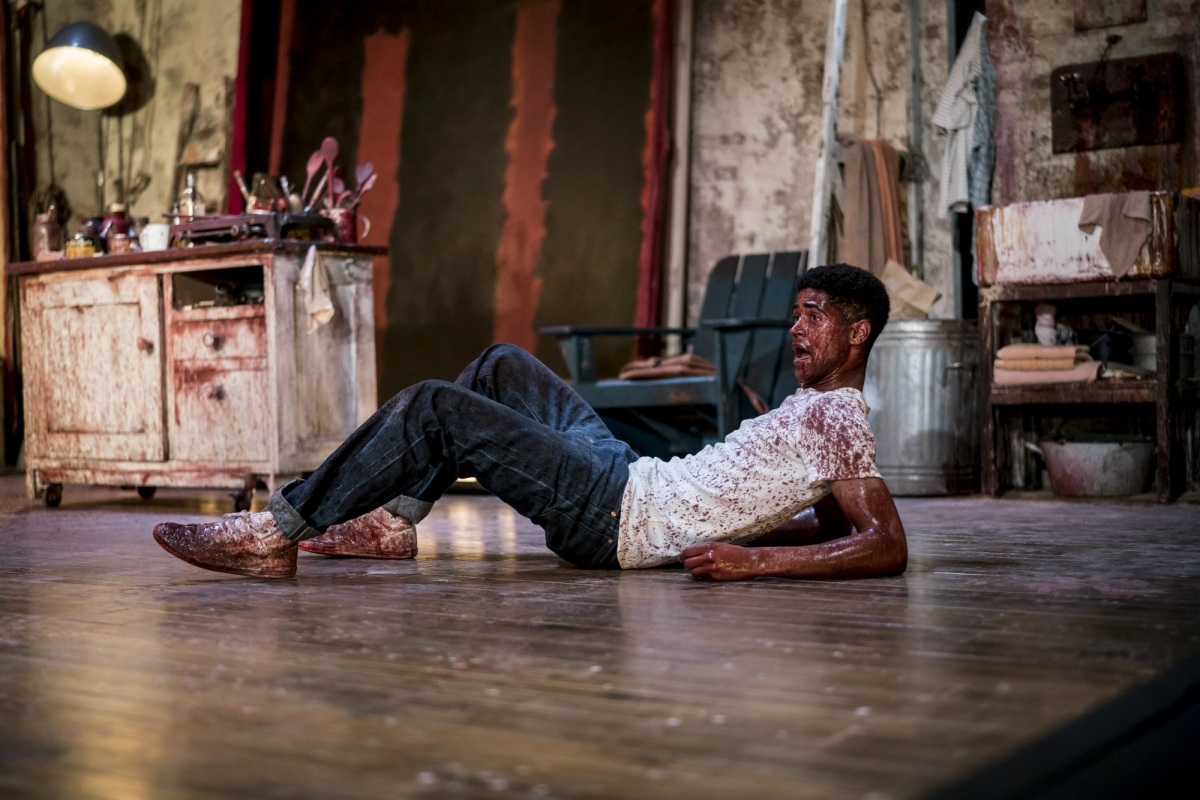 Alfred Enoch plays Ken, an assistant to artist Mark Rothko.