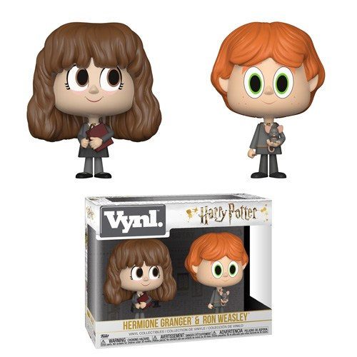 Hermione Granger and Ron Weasley with Scabbers Vynl