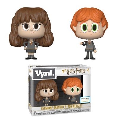 Hermione Granger and Ron Weasley with broken wand Vnyl