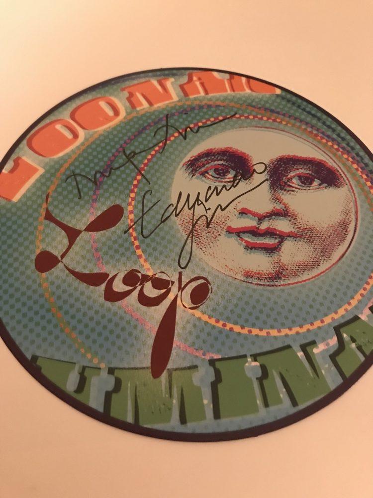 MinaLima-signed Lunar Loop art