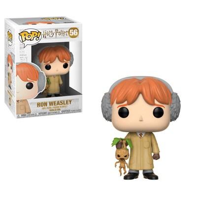 Ron Weasley in Herbology class