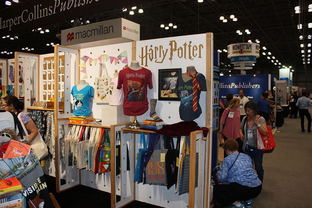 """Potter""-branded apparel has been hitting the shelves of stores since 2009, letting fans incorporate their love of ""Potter"" into their daily lives."