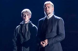 Draco and Scorpius Malfoy Cursed Child