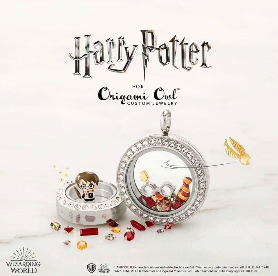 Harry Potter collection le Golden Snitch Origami Hibou Charme NOUVEAU