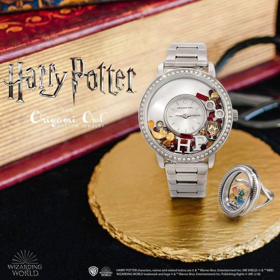 Harry Potter for Origami Owl watch and ring options