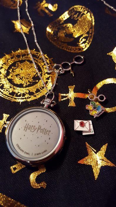 Harry Potter for Origami Owl plate, back side