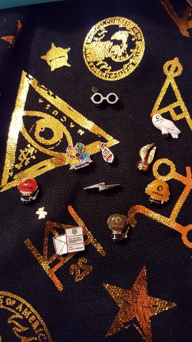 Harry Potter for Origami Owl charms, back side