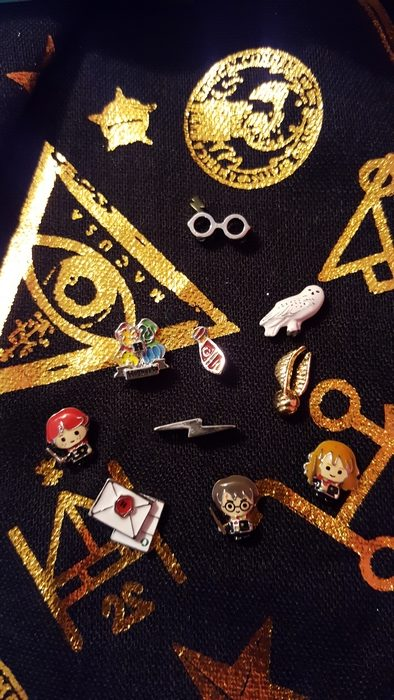 Harry Potter for Origami Owl charms, front side