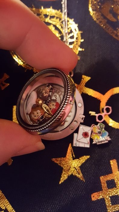 Harry Potter for Origami Owl, inserting charms
