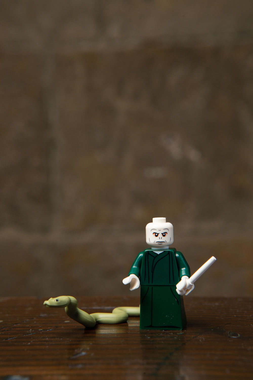 Voldemort and his loyal side-snake Nagini are included in the new LEGO minifigures series!