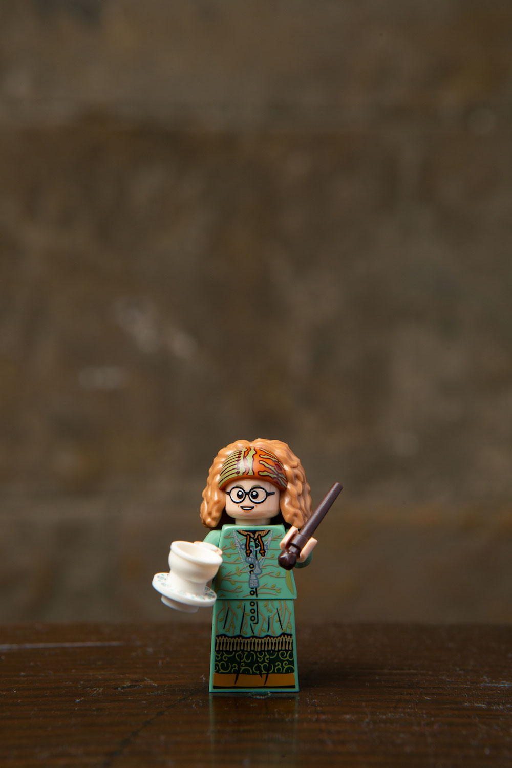 Trelawney and her teacup predict that you should collect all these amazing LEGO minifigures from the new wizarding world series.
