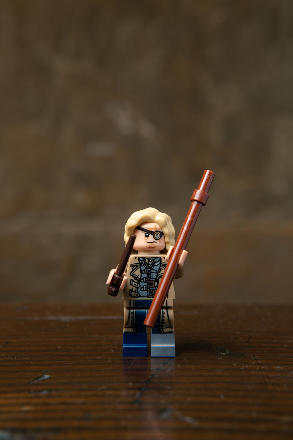 No Wizarding World Minifigures series would be complete without Mad-Eye Moody!