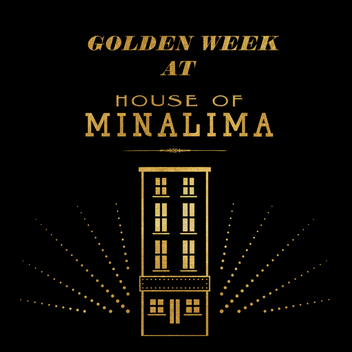 House of MinaLima will be shimmering from top to bottom this week, in celebration of its second birthday!