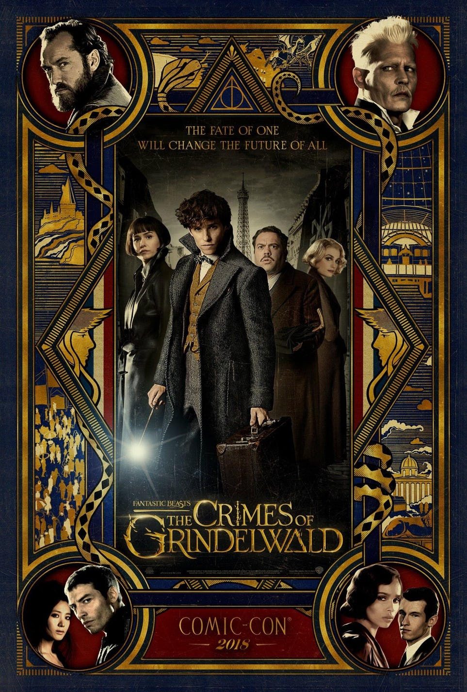 """Fantastic Beasts: The Crimes of Grindelwald"": SDCC poster"