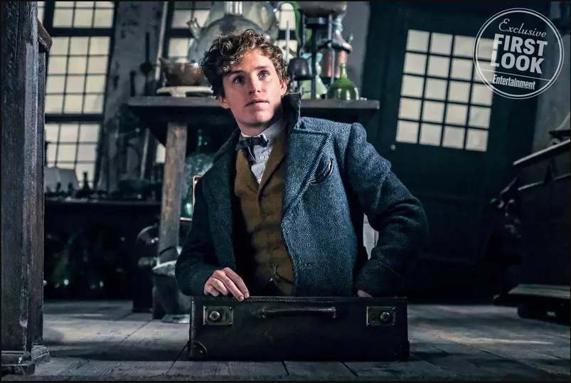 """Fantastic Beasts: The Crimes of Grindelwald"": Newt Scamander (Eddie Redmayne)"