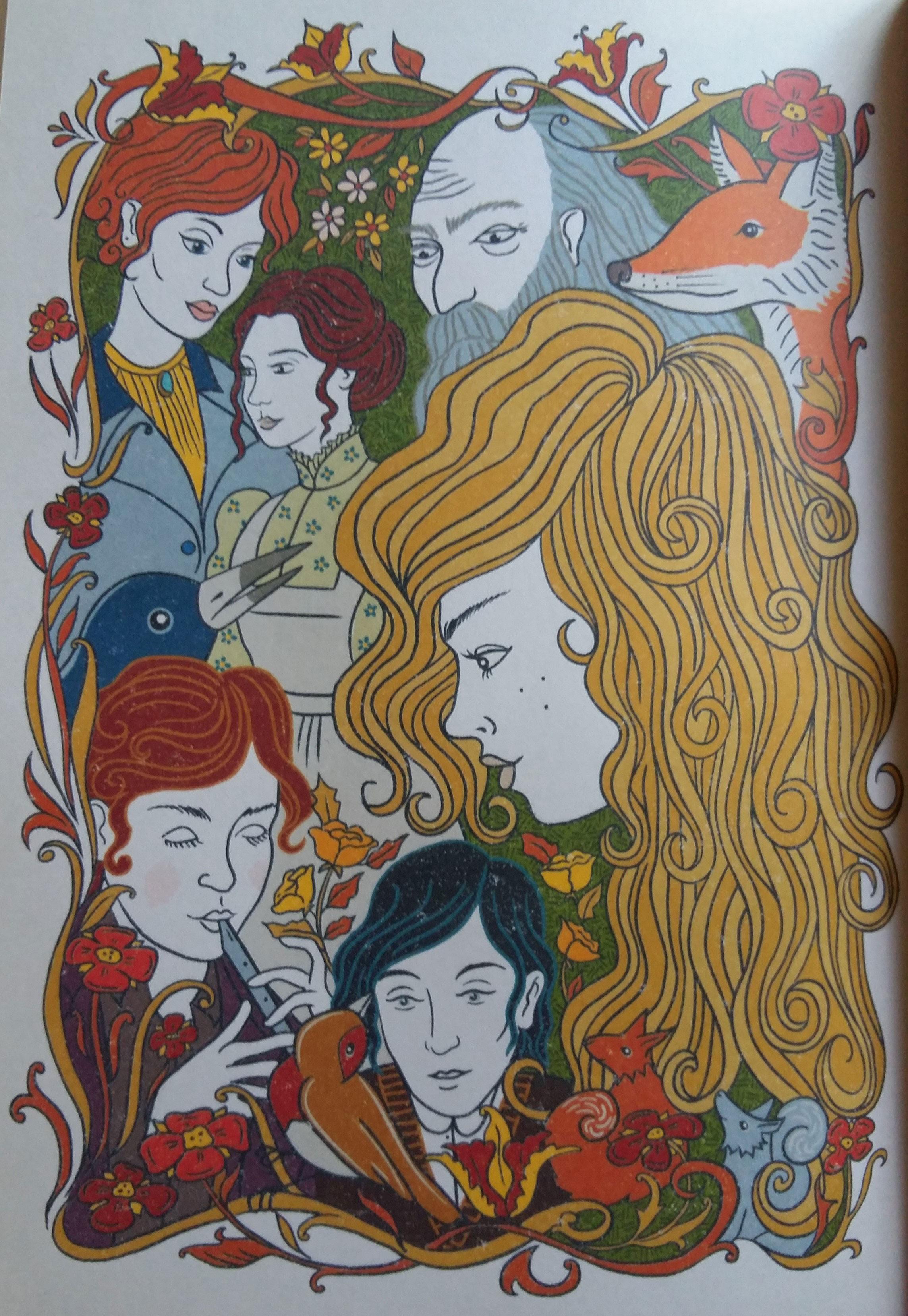 """MinaLima """"The Secret Garden"""" final chapter plate"""