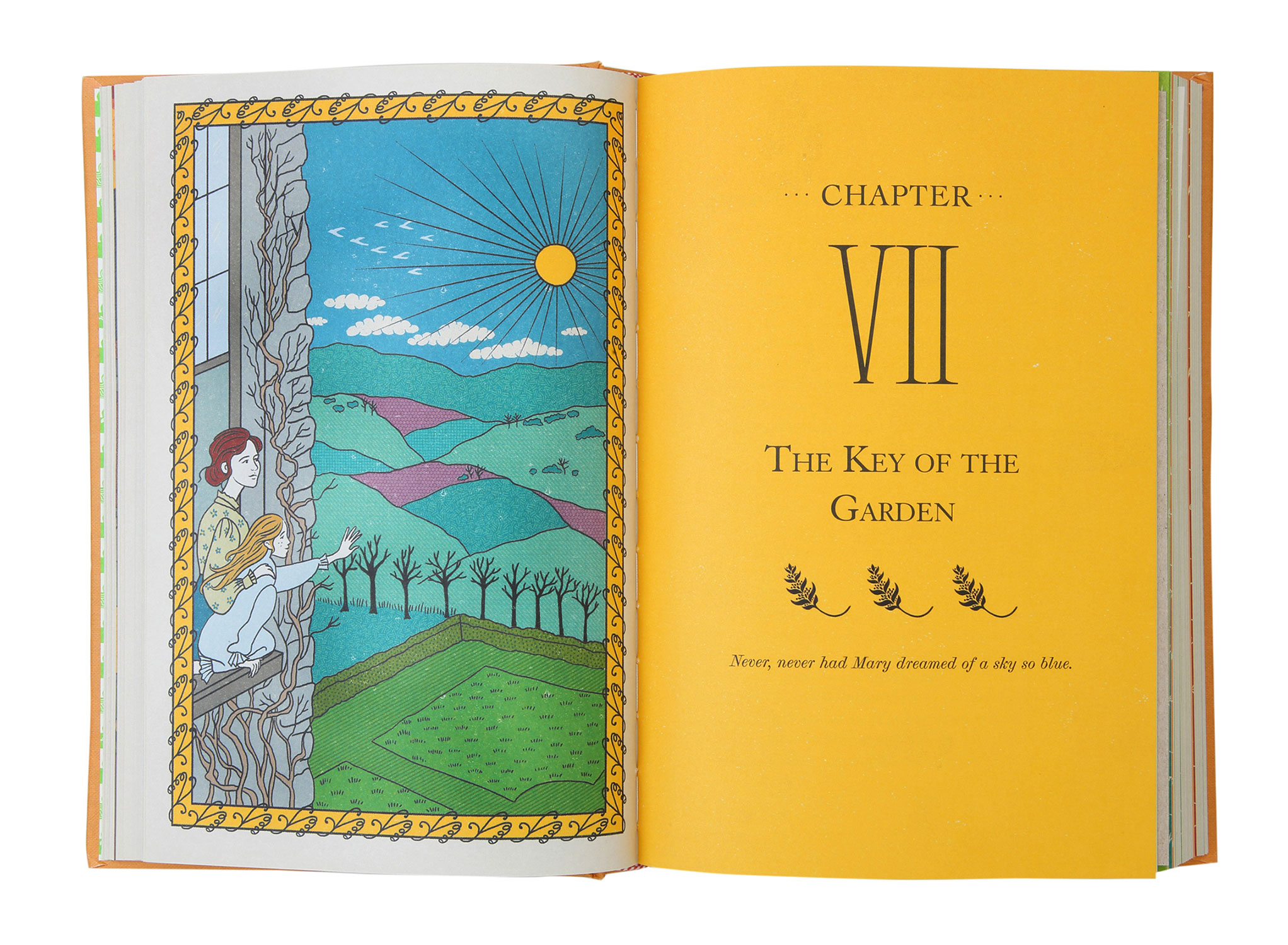 "MinaLima ""The Secret Garden"" chapter plate"