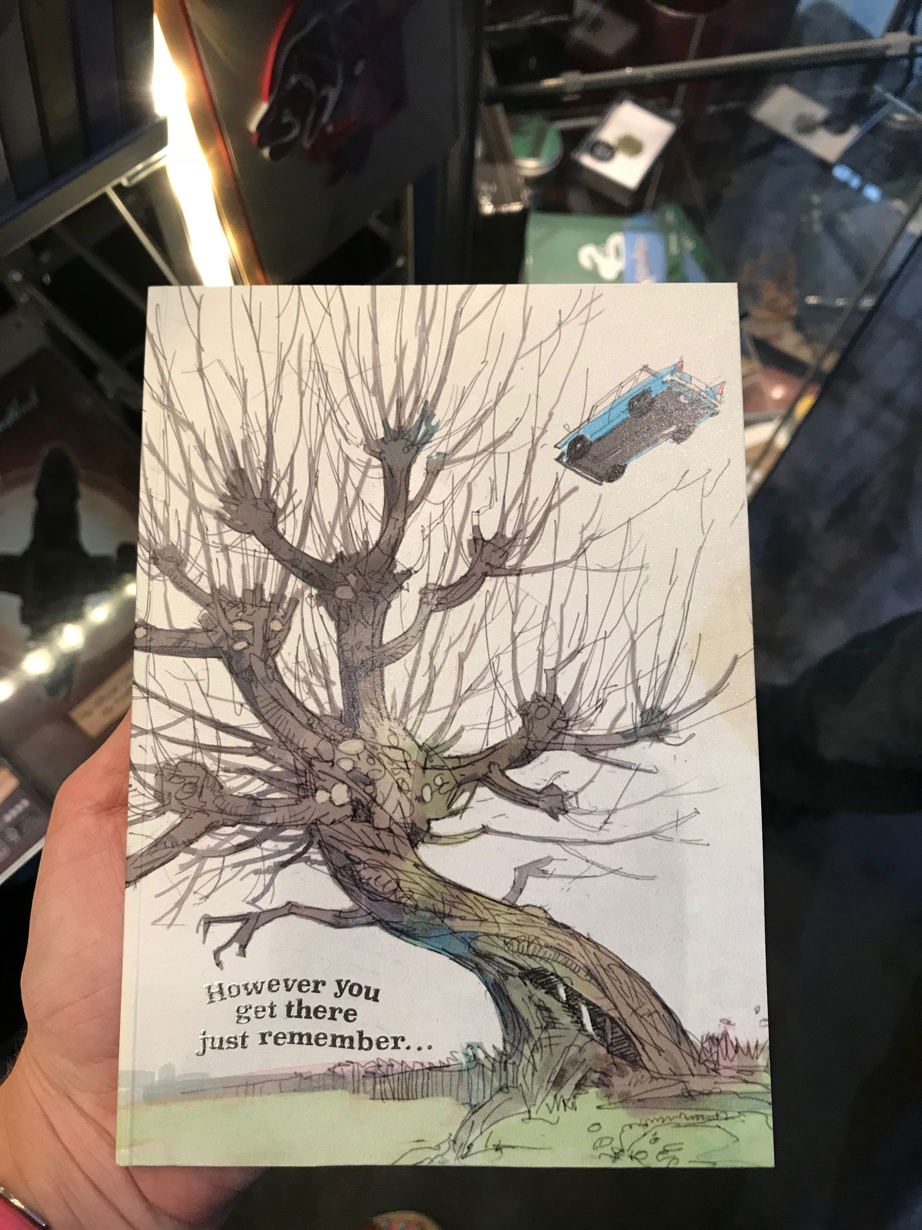 """""""Harry Potter"""" card from Insight Editions offers some encouragement."""