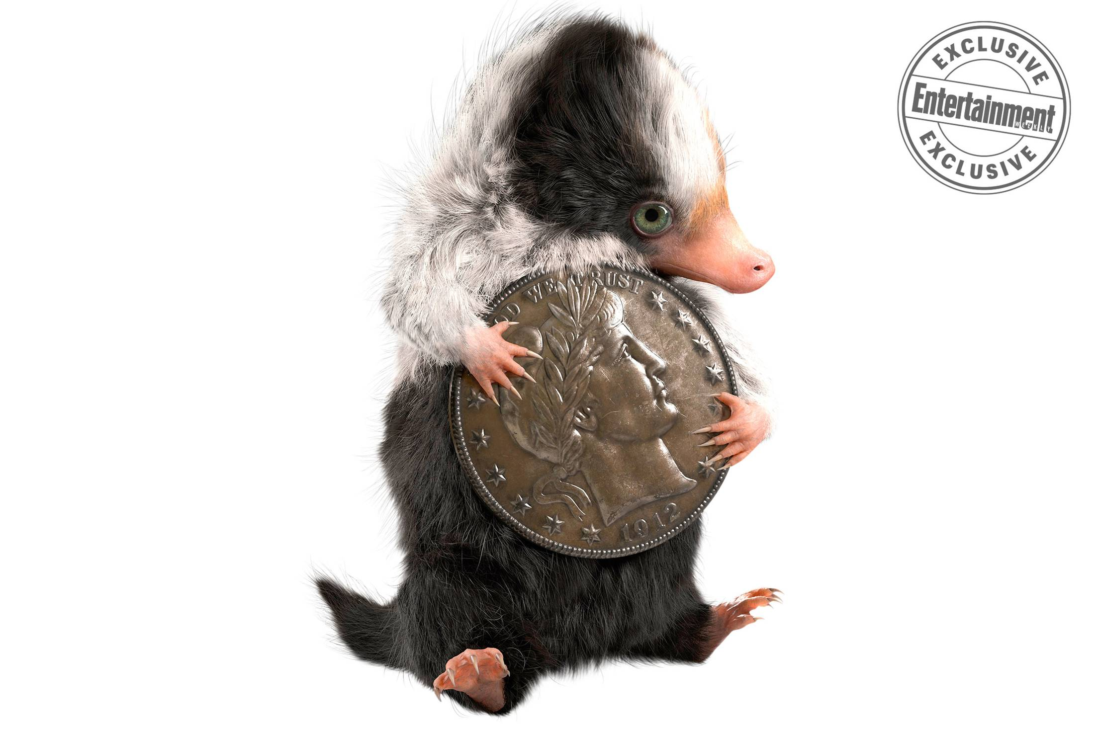"""Fantastic Beasts: The Crimes of Grindelwald"": Baby Niffler concept art"