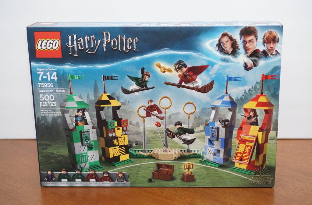 LEGO Harry Potter Quidditch box back