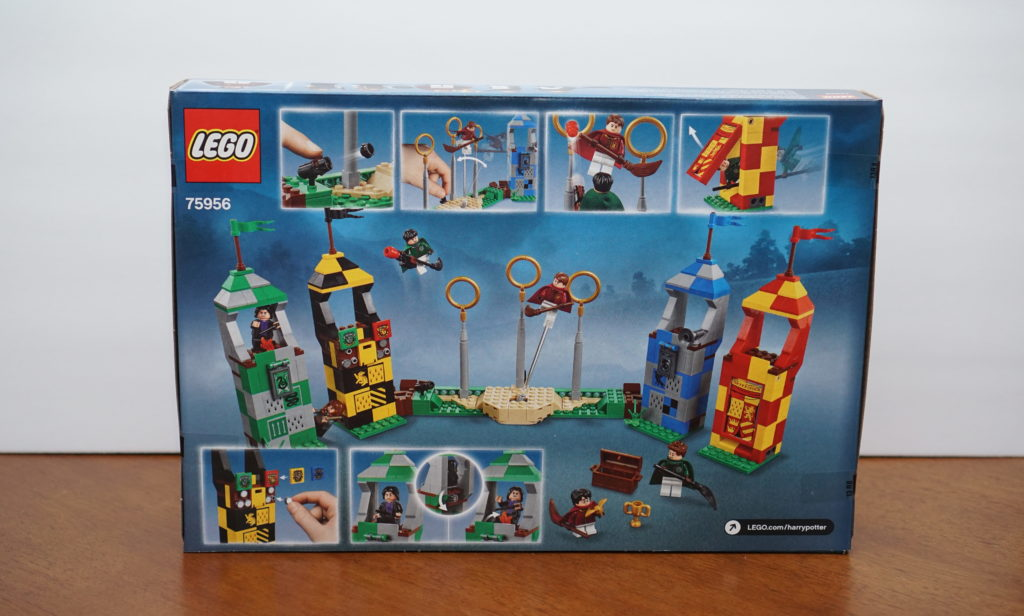 LEGO Harry Potter Quidditch box front