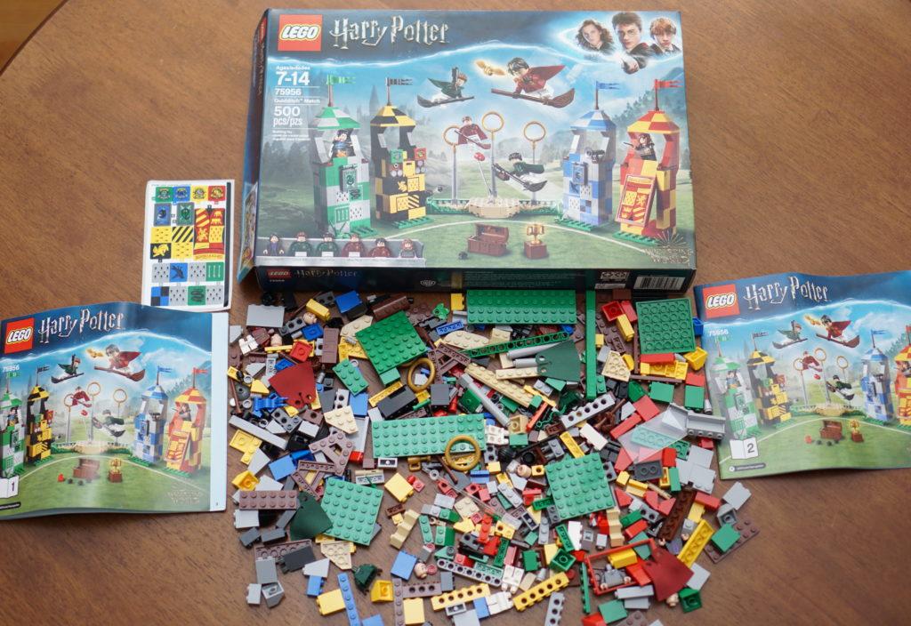 LEGO Harry Potter Quidditch pieces