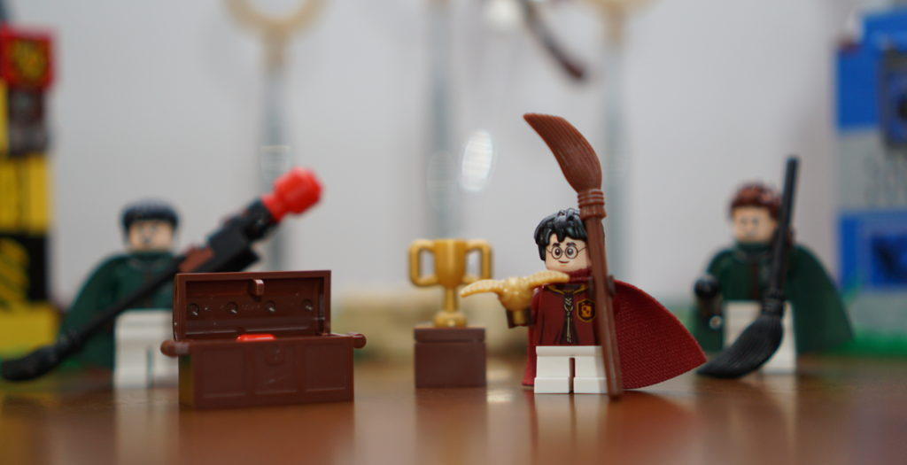 LEGO Harry Potter Quidditch close up