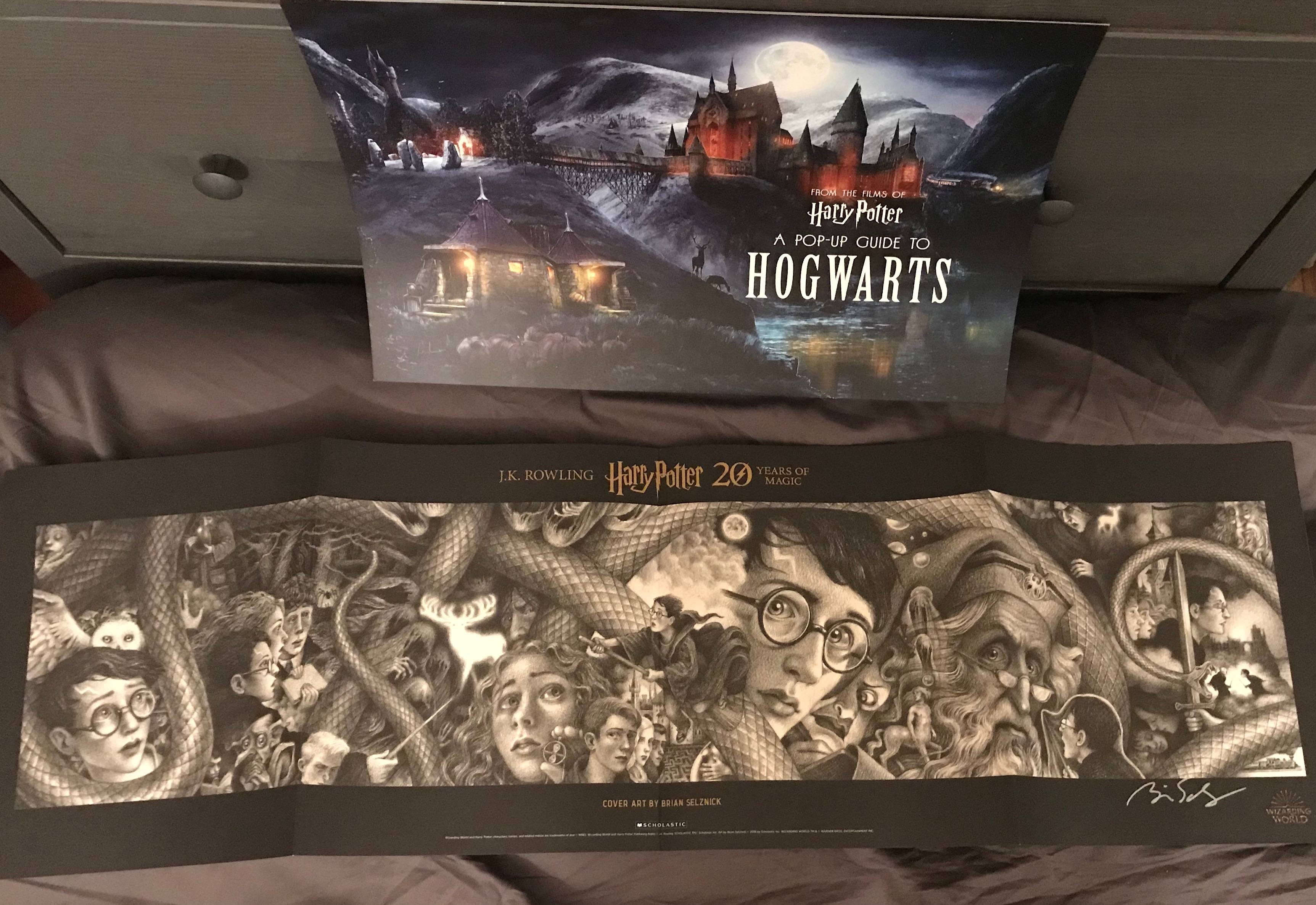 """Harry Potter"" 20th-anniversary poster pack"