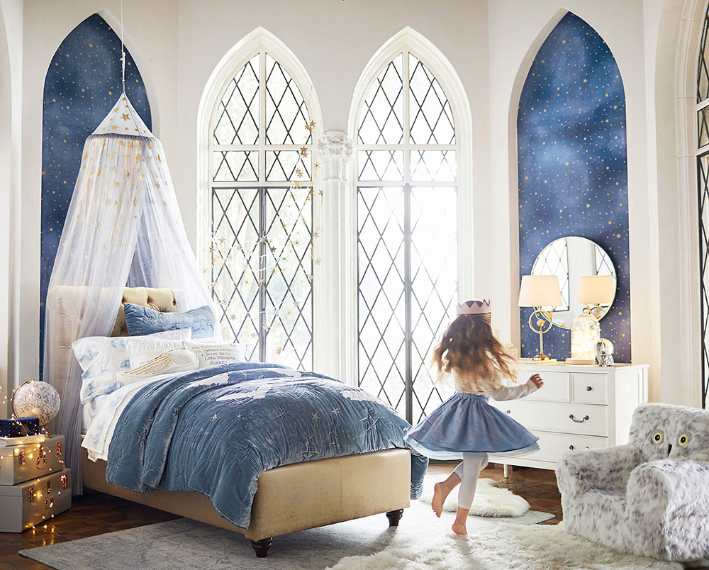 Pottery Barn Kids bedroom