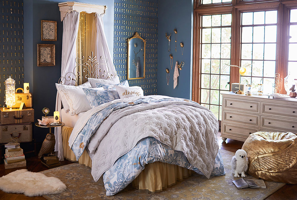 Pottery Barn girl's room