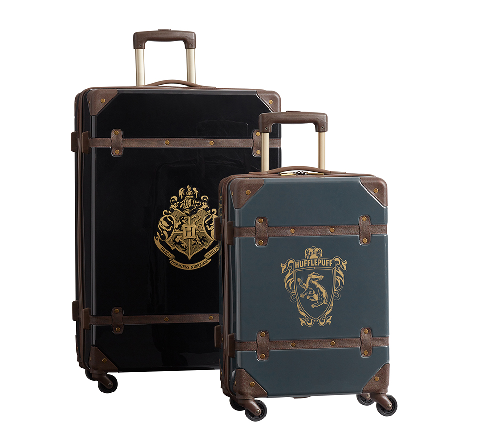 """Harry Potter"" hardside luggage Hufflepuff"