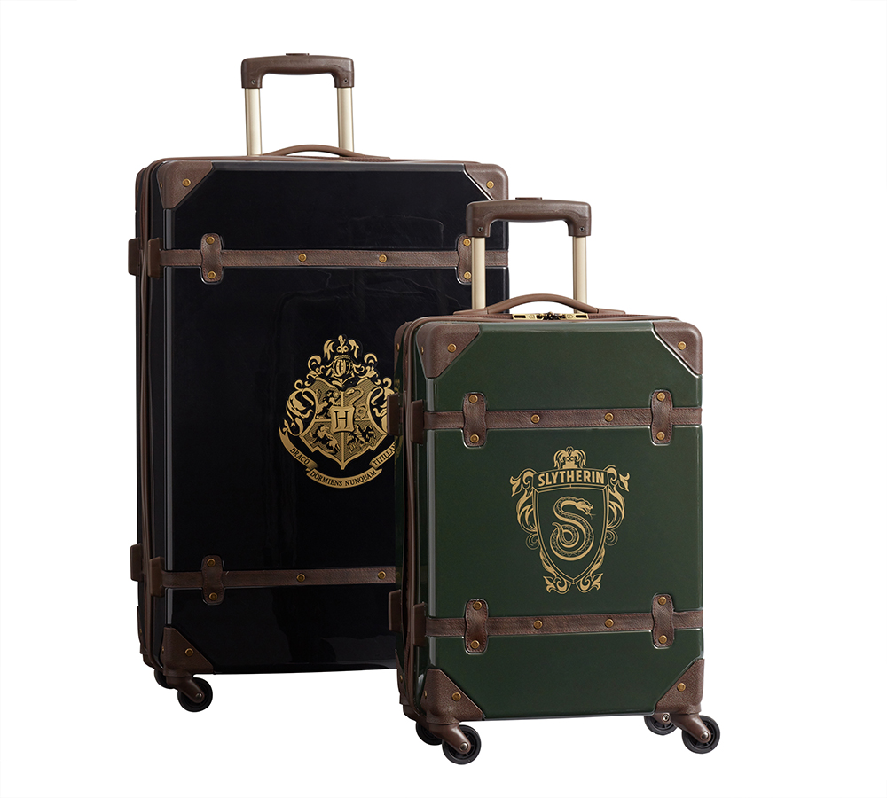 """Harry Potter"" hardside luggage Slytherin"