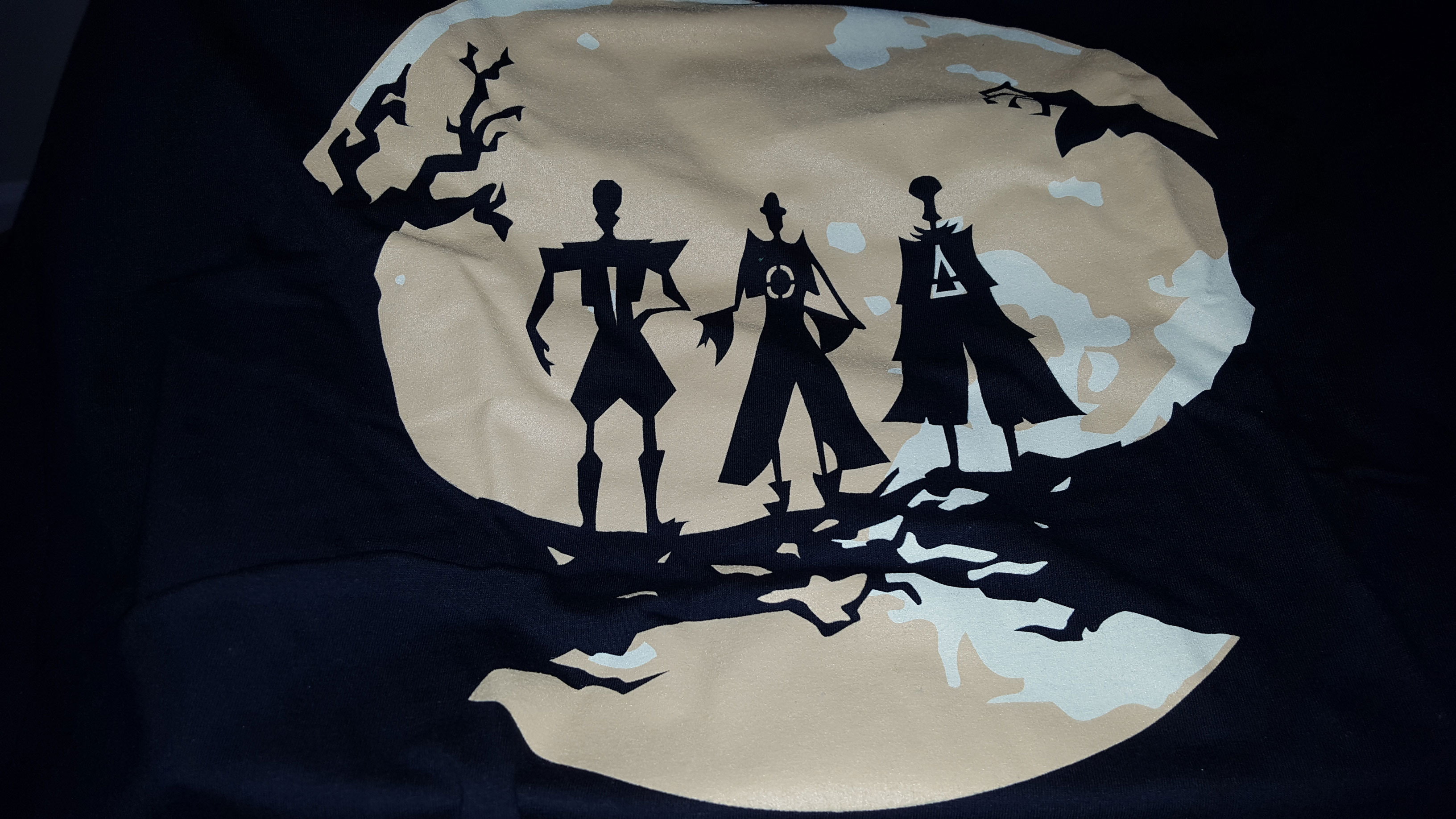"""""""The Tale of the Three Brothers"""" moonlight silhouette T-shirt"""