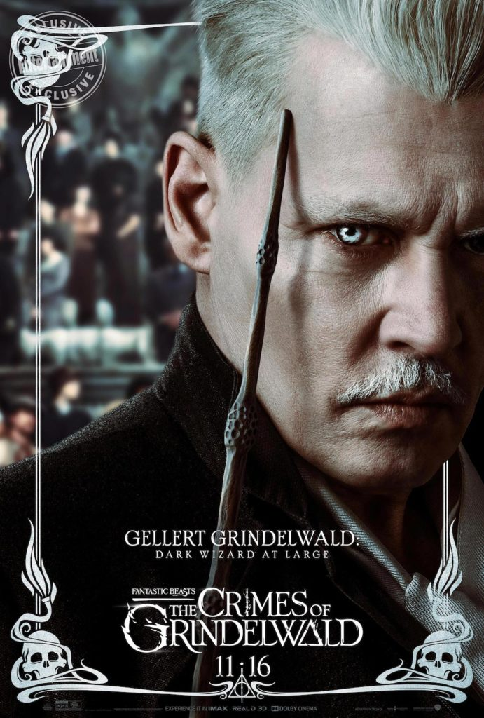 """Fantastic Beasts: The Crimes of Grindelwald"": Gellert Grindelwald character poster"